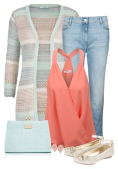 """""""Untitled #1164"""" by callmeadie ❤ liked on Polyvore featuring maurices, M&S, LE3NO, Forever New, Monsoon and Humble Chic"""