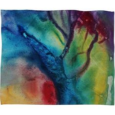 Madart Inc. The Beauty of Color 3 Fleece Throw Blanket  ALL RIGHTS RESERVED, COPYRIGHT PROTECTED