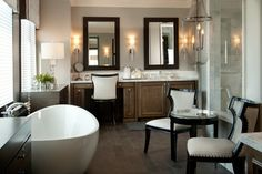 Luxury home Hampton's Inspired... Somethings Gotta Give! - traditional - bathroom - san diego - Robeson Design