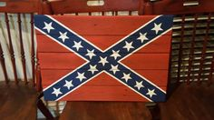 Confederate Flag Sign by TypsieGypsies on Etsy