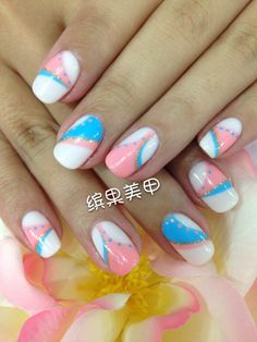 好看好看ww CuteなNail Art!! #Nail #美甲 #ネイル