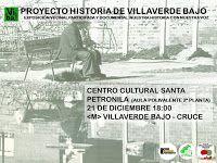 Gente de Villaverde: Proyecto Memoria de Villaverde Bajo