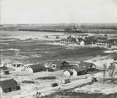 Krooswijk in aanbouw met op de voorgrond het Zomerland