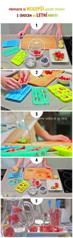 Připravte si nejlepší ledové tyčinky s ovocem na letní párty. S naším videem to zvládne každý!