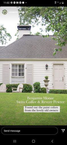 Exterior Paint Colors For House, Paint Colors For Home, Exterior Colors, House Colors, Vista House, Rustic Patio, Favorite Paint Colors, Exterior Remodel, House Painting