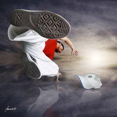 Break-dancing with my Converse