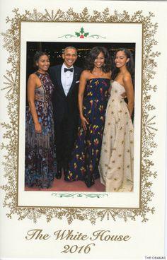 La dernière carte de voeux des Obama tout en styles est parfaite (PHOTOS)