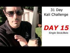 Kali Stick Drill - DAY 15: 31 Day Kali Arnis Challenge