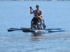 adaptive paddleboarding.  >>> See it. Believe it. Do it. Watch thousands of spinal cord injury videos at SPINALpedia.com