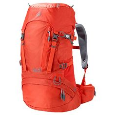 Jack Wolfskin Womens ACS Hike Pack Rucksack Lobster Red 30 L ** Check out this great product.(This is an Amazon affiliate link and I receive a commission for the sales)