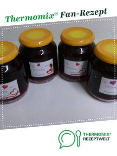 Kirschmarmelade / Kirschkonfitüre  von happy77. Ein Thermomix ® Rezept aus der Kategorie Saucen/Dips/Brotaufstriche auf www.rezeptwelt.de, der Thermomix ® Community.