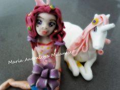 le mie creazioni zuccherose: Mia And Me cake topper