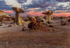Bisti Wilderness. New Mexico