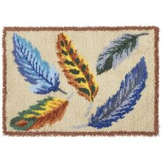 Feathers Latch Hook Kit - Herrschners