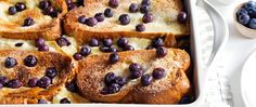 Cream cheese, lemon and juicy blueberries give this easy make-ahead French toast bake fresh spring flavor with the right amount of decadence.