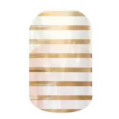 Metallic Gold Pinstripe  nail wraps by Jamberry Nails