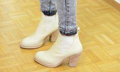 #mercredie #blog #fashion #Blogger #fashionblogger #mode #geneve #geneva #switzerland #suisse #biker #jeans #grey #jennyfer #acne #vanilla #boots #star #pull #on #boots #bottines #cream #crème
