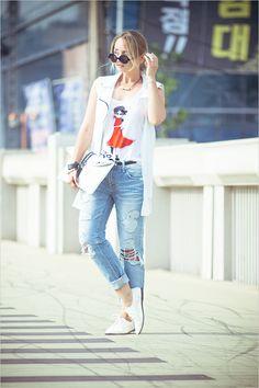 My Blonde Gal, Retro Sleek Large Round Fashion Sunglasses 8704