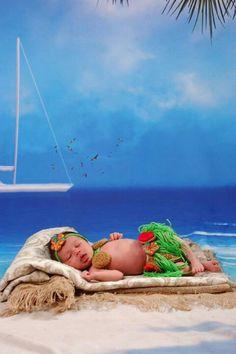 Fantasia havaiana newborn