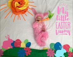 easter baby pictures, easter baby photos, easter baby, Easter Bunny Baby Picture Ideas