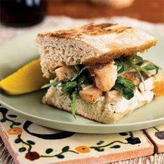 Chicken Panini with Fig Jam Recipe | MyRecipes.com