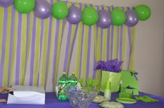 Barney Party ~ Decorations ~ Background streamers