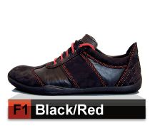 Barfussschuhe Evolution F1 Black/Red