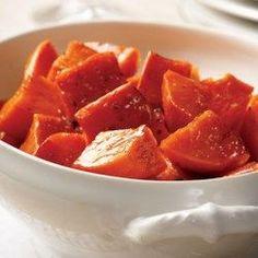 Maple-Roasted Sweet Potatoes - EatingWell.com