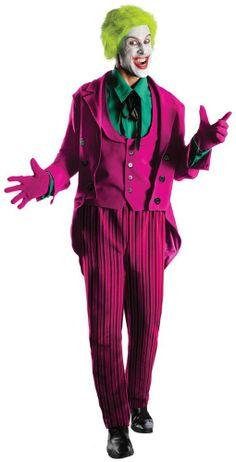 Batman Classic 1966 Series Grand Heritage The Joker Adult Halloween Costume #RubiesCostumeCo #CompleteCostume