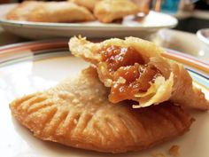 Southern Fried Pies  these are wonderful. Make in apple, peach or chocolate. Ummmm