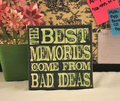 The Best Memories Expressive Art on Canvas by everlastingdoodle