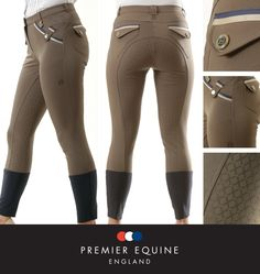 The Coco breech in walnut from Premier Equine's Spring/Summer clothing range. A stylish and technical performance breech with exquisite branded attributes and gel seat. £84.99 (www.premierequine.co.uk)