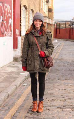 Moda en la calle en Londres