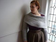 is it a scarf? is it a shrug? is it a cowl - it's all those things - free pattern