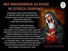 Akt miłosierdzia za dusze 2 czystoścu I Love You, My Love, Motto, Christianity, Catholic, Prayers, Faith, Bible, Fotografia