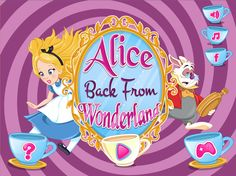 Have an amazing time playing this wonderful new Enjoydressup game called Alice Back From Wonderland and help Alice go back to her world! Fun Adventure Games, Game Calls, Her World, Games For Girls, Summer Days, Cave, Wonderland, Rabbit, Alice