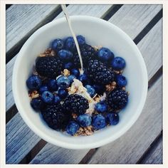 Image via We Heart It https://weheartit.com/entry/166212214 #blueberries #fit #food #healthy #love #motivation