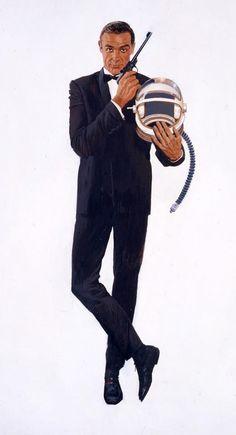 Robert McGinnis #007 #james_bond