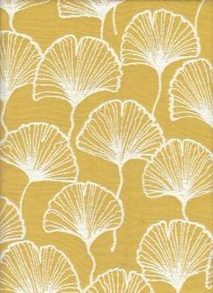 Jubilee Canary - www.BeautifulFabric.com - upholstery/drapery fabric - decorator/designer fabric