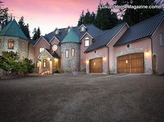 Blackberry Castle is my absolute dream home! Only need 8 Mill... hummmmmmm