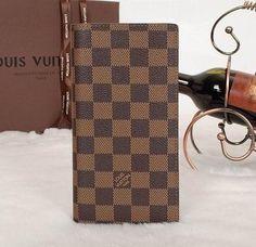 Louis Vuitton Brazza Wallet Damier Ebene N62665