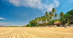 Tamarindo's beautiful beach, Costa Rica.