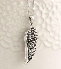 Sterling Silver Womens 1mm Box Chain 3//4 Diameter Rafael Cherub Pendant Necklace