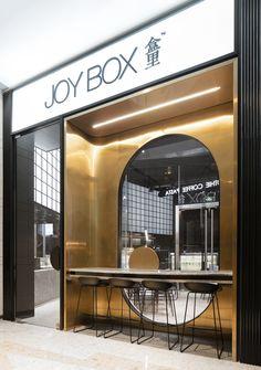 Pure Design use Terrazzo to Create Range of Furniture for Joy Box Cafe Interior, Shop Interior Design, Retail Design, Interior Design Inspiration, Store Design, Luxury Interior, Terrazzo, Architecture Restaurant, Restaurant Design