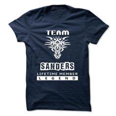 Team SANDERS Lifetime Members TSHIRT - #college gift #house warming gift. SAVE => https://www.sunfrog.com/Valentines/Team-SANDERS-Lifetime-Members-TSHIRT.html?68278