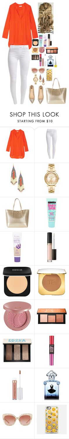 """""""Untitled #1967"""" by azra-99 on Polyvore featuring Equipment, Dorothy Perkins, Sole Society, Michael Kors, Karen Millen, River Island, Maybelline, Rimmel, MAKE UP FOR EVER and Tom Ford"""