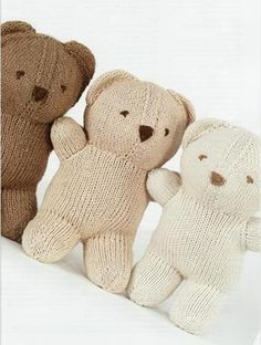One day I WILL make one of these! Baby Bobbi Bear - South Seas Knitting