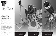 logo & design e-zine/website TachYons - Capitalize your mission