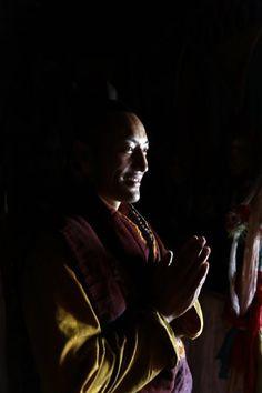 Moine tibétain. Photos du #Tibet par Matthieu Ricard