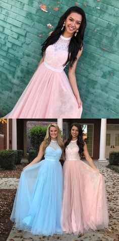 prom dresses 2018, fashion formal party dresses with lace beaded, elegant evening gowns.